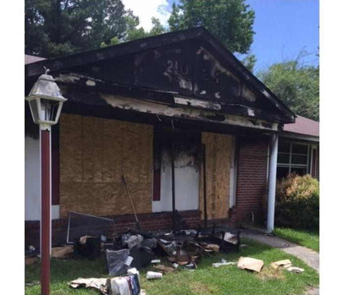 Fire Damage in Columbus, GA Before