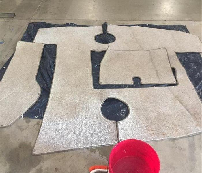 Boat Carpet Cleaning in Columbus, GA Before
